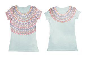 Googoo and Gaga Women's Tee Tribal Neck