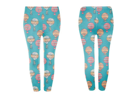 Googoo and Gaga Adult Leggings Fruit & Starfish