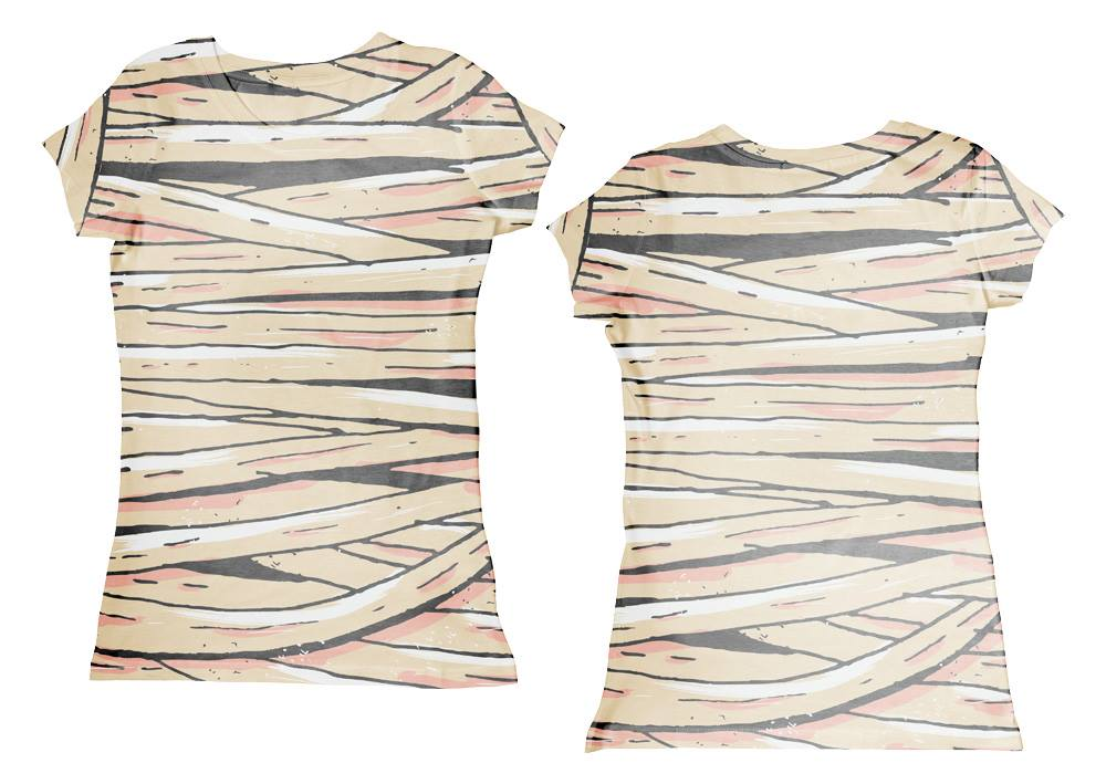 Googoo and Gaga Women's Tee Mummy Wrap Peach