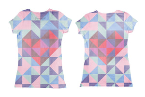Googoo and Gaga Women's Tee Geometric Heart