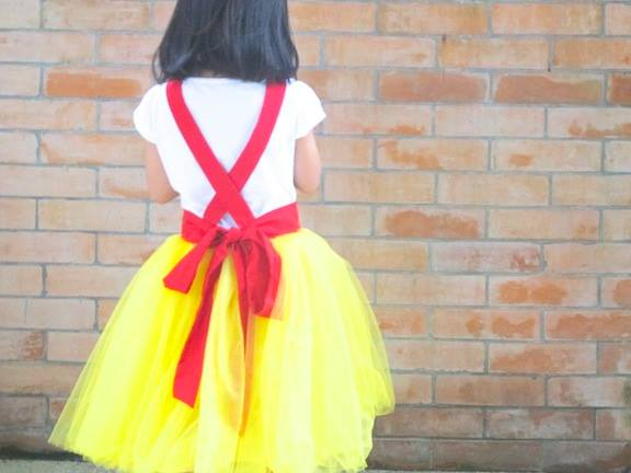 Celestina & Co. Snow White Inspired Apron Dress
