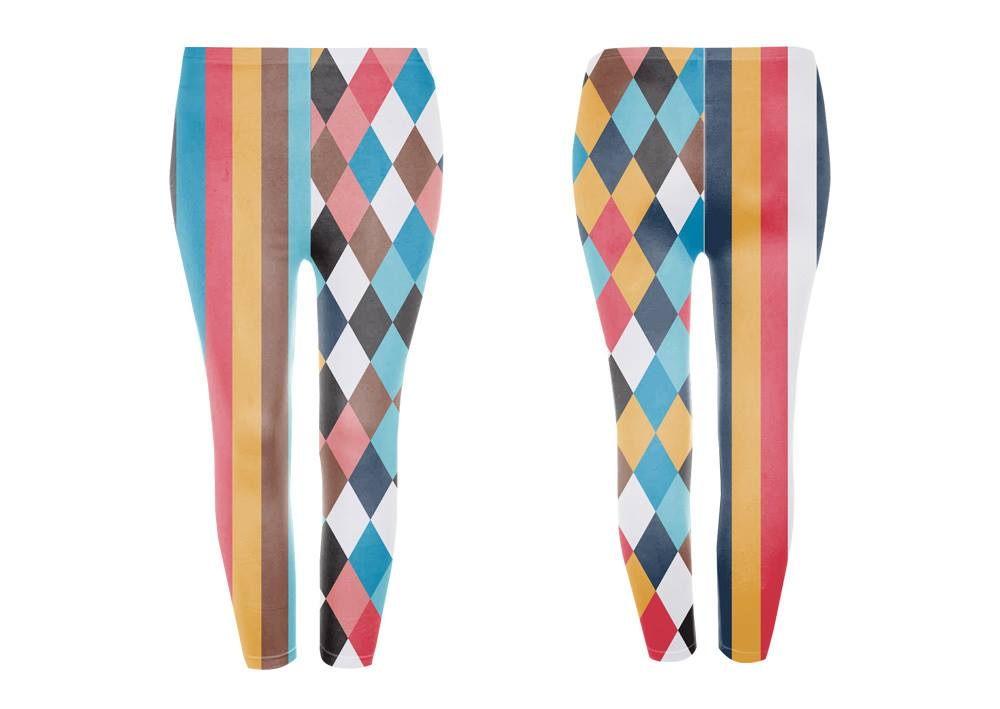 Googoo and Gaga Adult Leggings Harlequin