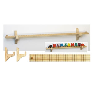 "Maple Landmark NT Wall Mount 27.5"" Track/10 Car"