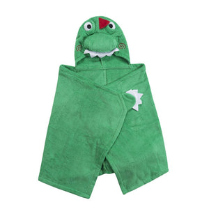 Zoocchini Hooded Towel - Devin the Dino