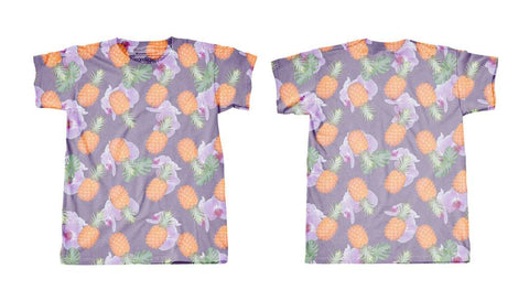 Googoo and Gaga Adult Men's Tee Pineapples
