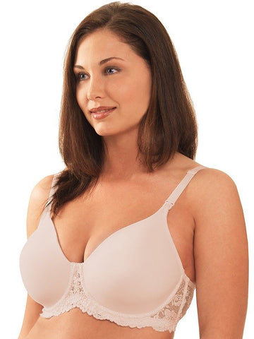 Leading Lady Molded Seamless Lace Framed Underwire Bra