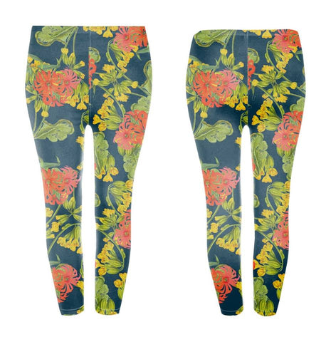 Googoo and Gaga Adult Leggings Flowers