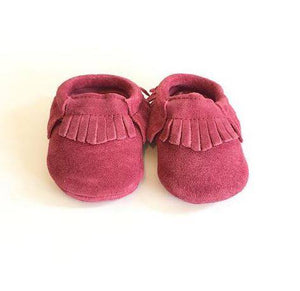 Ben And Adam Baby Moccasins Suede Lily Pink