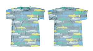 Googoo and Gaga Men's Tee Camo Whales