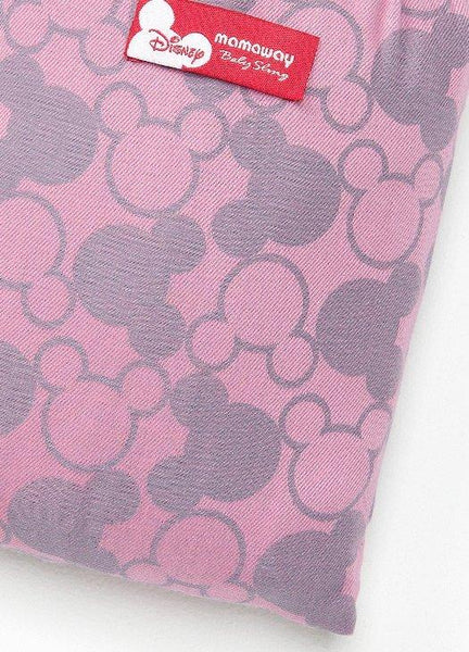12812 Mamaway Baby Ring Sling Mickey Kaleidoscope Pink