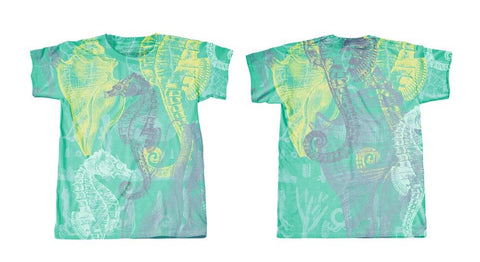 Googoo and Gaga Boys Tee Sea Horses