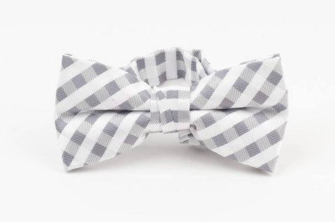 Fore Axel Bow Tie Gray Check