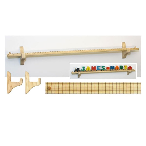 "Maple Landmark NT Wall Mount 32.5"" Track/12 Car"