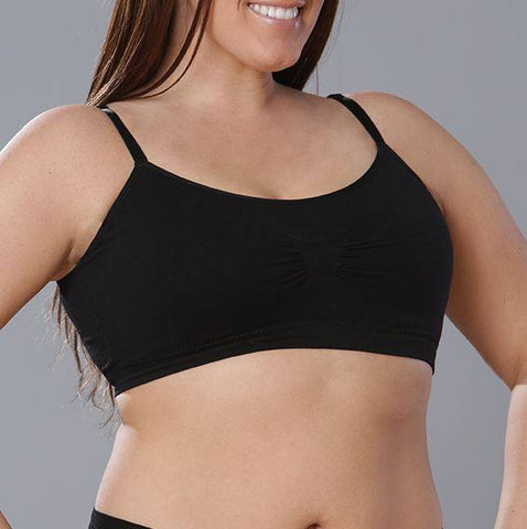 Coobie Full Size Scoopneck Maternity Bra - Black