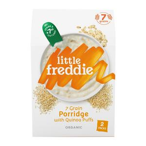 Little Freddie 7-Grain Porridge with Quinoa Puffs (2 packs)