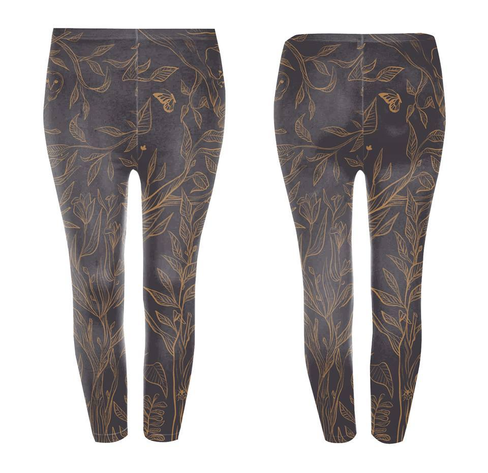 Googoo and Gaga Kids Leggings Deer Tree