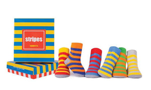 Trumpette Stripes Socks, 6 Pack
