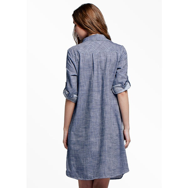 1624B Mamaway Denim Maternity & Nursing Dress
