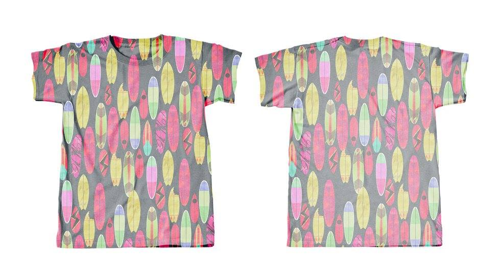 Googoo and Gaga Boys Tee Surfboards