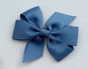 Celestina & Co. Medium Signature Bows Antique Blue