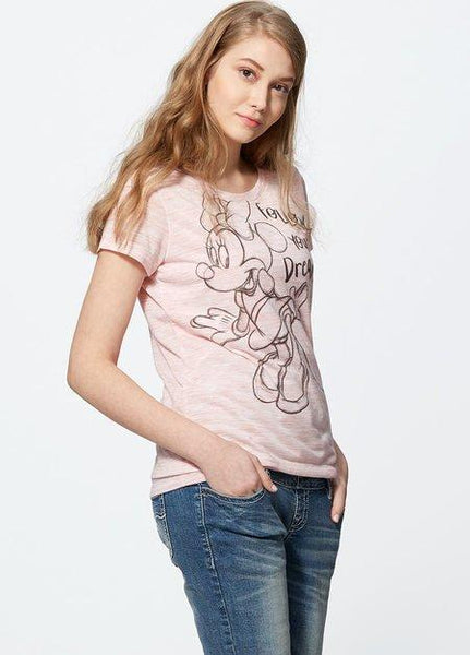 181803D1 Minnie Sketched Maternity and Nursing Top