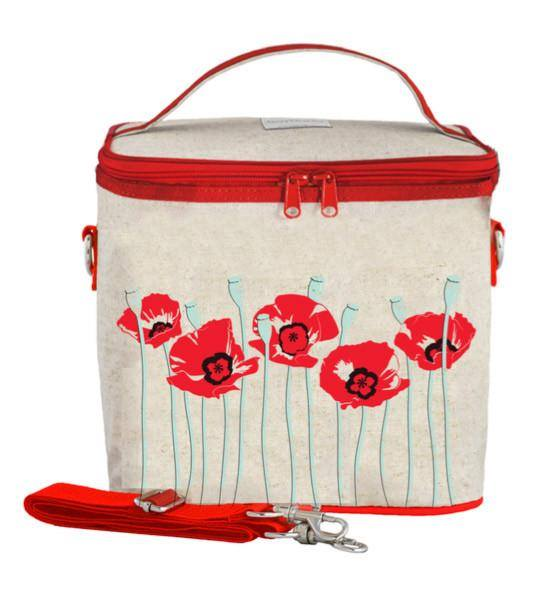So Young Insulated Cooler Bags Red Poppy