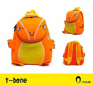 Q Rose Bags T-Bone Orange Dino