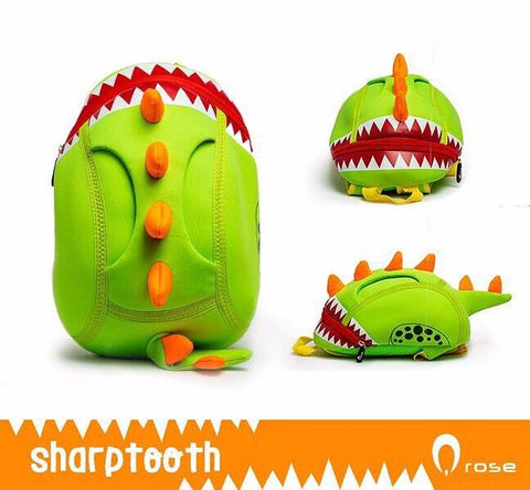 Q Rose Bags Dinosaur with Sharp Teeth
