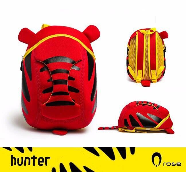 Q Rose Bags Hunter Red Tiger