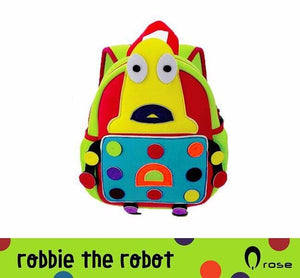 Q Rose Bags Robbie the Yellow Robbot