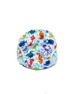 Next9 Swim Diapers Octo & Friends White