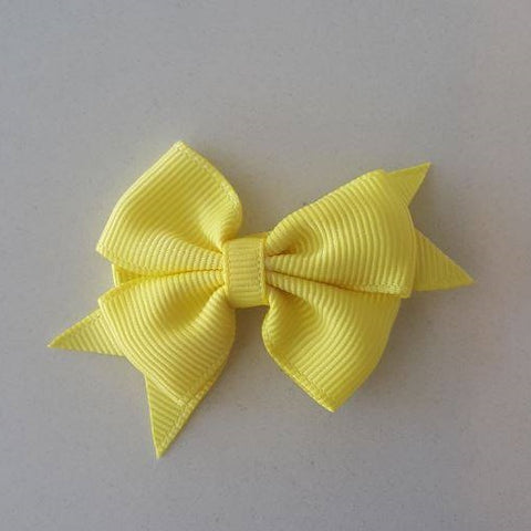 Celestina & Co. Petite Signature Bow Lemon