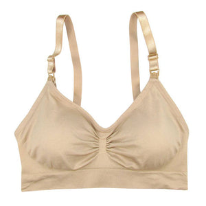 Coobie Full Size Nursing Bra with Hook - Nude
