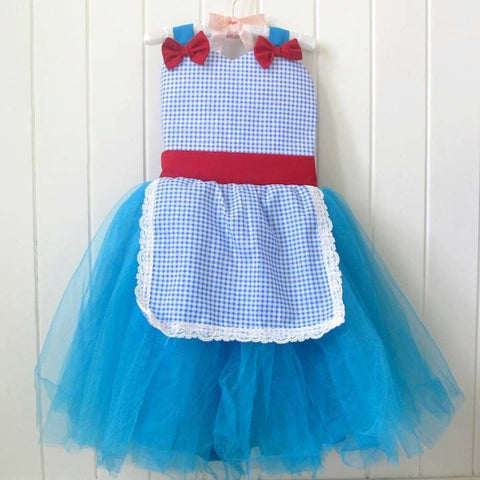 Celestina & Co. Dorothy Inspired Apron Dress
