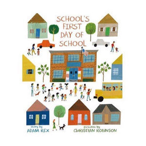 Hardcover: School's First Day of School
