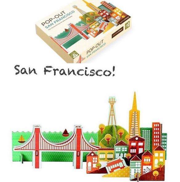 San Francisco Inspired: Pop Out San Francisco