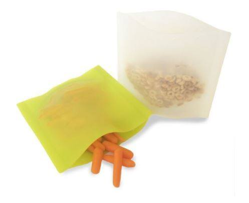 Siliskin Snack Bag in Fresh/Free 2 pack