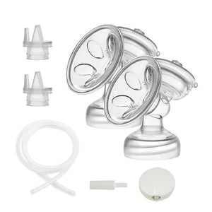 Wisemom 24mm Breast Flange Kit (pair)