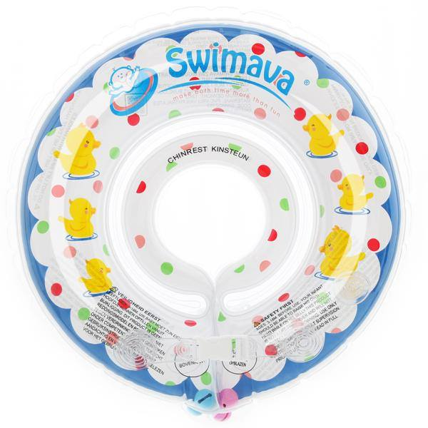 Swimava Starter Ring Blue Duckie
