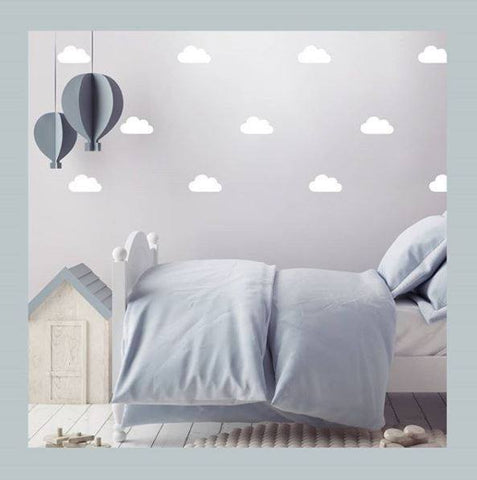 Stiles Cloud Decal-White (32pcs.)