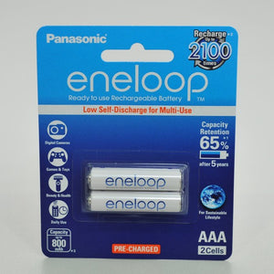 Eneloop AAA2x 2100x Rechargeable Battery