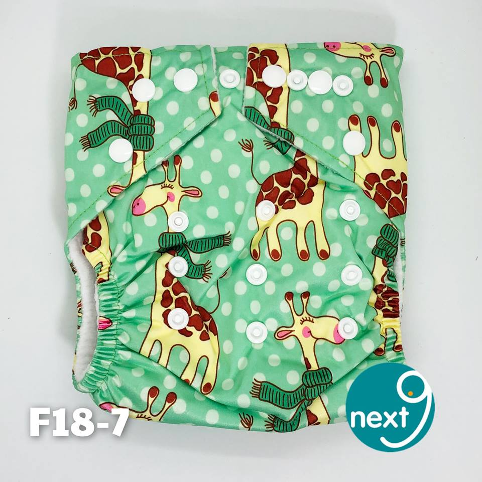 Next9 Cloth Diaper Giraffe