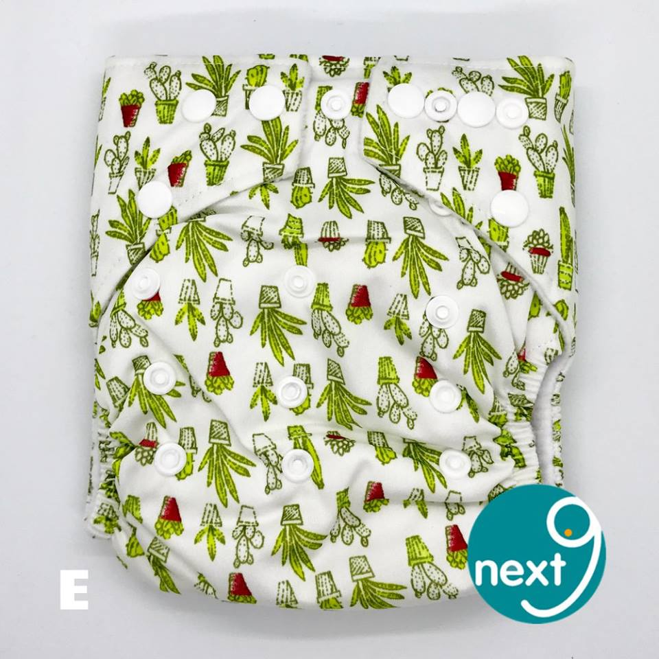 Next9 Cloth Diaper Cactus