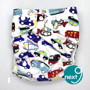 Next9 Cloth Diaper Traffic Jam