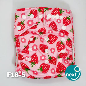 Next9 Cloth Diaper Strawberry