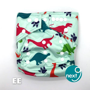 Next9 Cloth Diaper Dinos