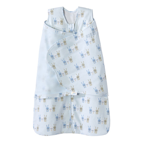 Halo Sleepsack Swaddle - Baby Blue Bunnies