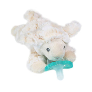 RaZbuddy Paci Holder - JollyPop Pacifier - Dream Lamb