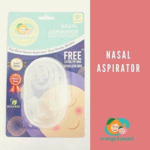 Orange & Peach Nasal Cleaner (Manual)