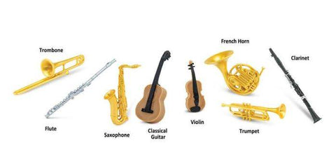 Safari Ltd: Musical Instruments Toob